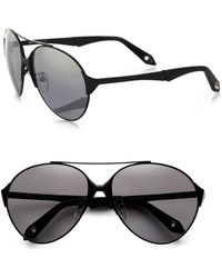 Givenchy 60mm Aviator Sunglasses - Lyst