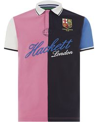 Hackett London Rowing Club Polo Shirt - Lyst