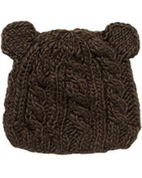 The Blueberry Hill 'Julian' Bear Cable Knit Kids Beanie - Lyst