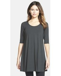 Eileen Fisher Petite Women'S Elbow Sleeve Tunic - Lyst