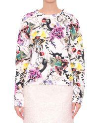 Mary Katrantzou Anthozoa Sun Cotton Sweatshirt - Lyst