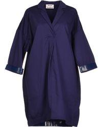Acne Studios Short Dress - Lyst