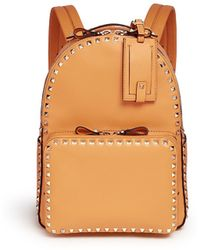 Valentino | 'rockstud' Leather Backpack | Lyst