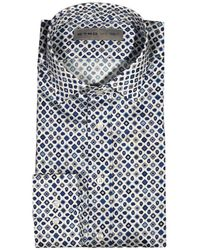 Etro Shirt New Warrant Popeline with Print - Lyst