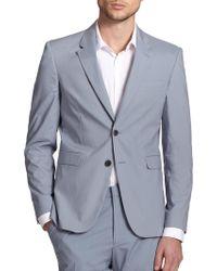 Burberry London Cotton Sportcoat - Lyst
