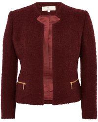 Cc Boiled Wool Jacket - Lyst
