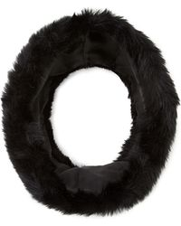 Forever 21 Faux Fur Snood - Lyst