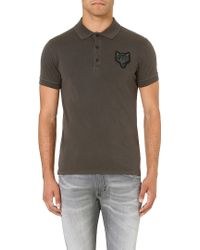 Diesel T-naki Cotton Polo Shirt - Lyst