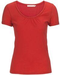 Stefanel Supima Jersey T-Shirt - Lyst