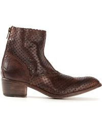 Shoto Brown Western Boot - Lyst