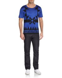 Versace Graphic Cotton Tee - Lyst