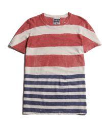 Jungmaven Baja Vintage T-Shirt red - Lyst