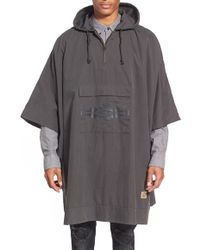 Vans | 'nathan Fletcher Collection' Water Resistant Hooded Poncho | Lyst