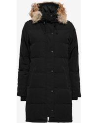 Canada Goose   Shelburne Fur Trim Parka: Black   Lyst