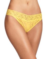 Hanky Panky Signature Lace Original-Rise Thong - Lyst