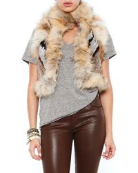 Elizabeth And James Brown Robby Vest - Lyst
