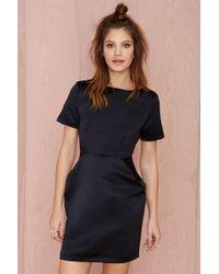 Nasty Gal Glamorous Jire Dress black - Lyst