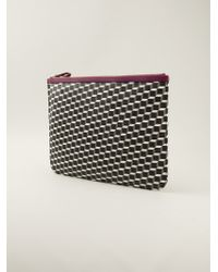 Pierre Hardy Cube Print Pouch Bag - Lyst