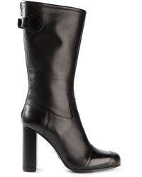 Acne Studios Chunky Heel Boots - Lyst