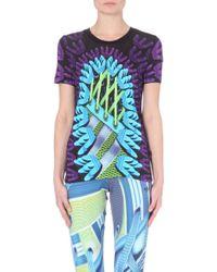 Mary Katrantzou Graphic-print Logo T-shirt - Lyst