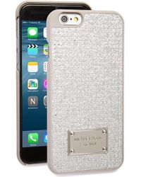 MICHAEL Michael Kors | Crystal Iphone 6 & 6s Case - Metallic | Lyst