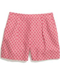 Madewell Deck Shorts in Tulip Tree - Lyst