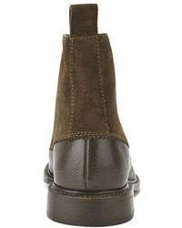 Vivienne Westwood - X Barker Men'S Leather/Suede Derby Boots - Lyst