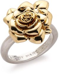 Marc By Marc Jacobs - Jerrie Rose Ring - Oro Multi - Lyst