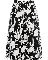 Oasis Flourishing Shadow Midi Skirt - Lyst