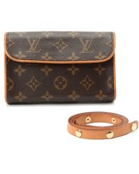 Louis Vuitton Pre-owned Pochette Florentine - Lyst