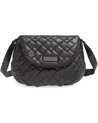 Marc By Marc Jacobs 'New Q Quilted Natasha' Leather Crossbody Bag - Lyst