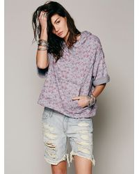 Free People Flower Power Hoodie - Lyst