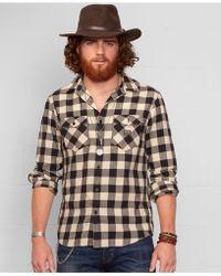 1a435ec9e4 Denim   Supply Ralph Lauren - Buffalo Check Flannel Shirt - Lyst