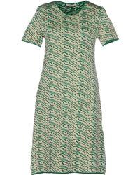 Bouchra Jarrar Short Dress - Lyst