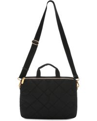 Marc By Marc Jacobs - Crosby Quilt Commuter Bag - Black - Lyst