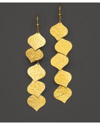 Gurhan Long Fringe Clove Earrings - Lyst