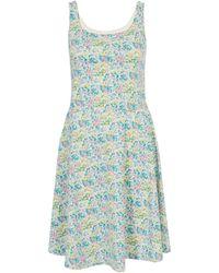 Uniqlo - Claire Tepper Pink Printed Bra Dress - Lyst