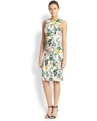 Carolina Herrera Botanicals Dress - Lyst