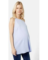 Topshop Mylo Maternity Shell Top - Lyst