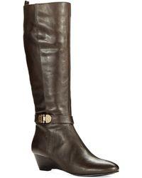 Bandolino Adanna Wedge Boots - Lyst