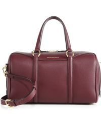 Burberry | Alchester Medium Leather Bowler Bag | Lyst