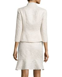 Kay Unger - 3/4-sleeve Skirt Suit - Lyst