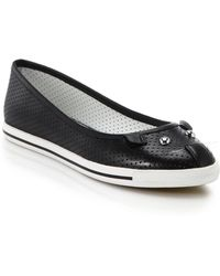 Marc By Marc Jacobs Perforated Leather Mouse Ballet Flats - Lyst