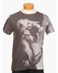 Sons Of Heroes Damaged Lion Tshirt - Lyst