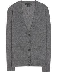 Burberry Prorsum - Cashmere And Silk-blend Cardigan - Lyst