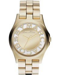 Marc By Marc Jacobs Women'S Gold Ion-Plated Stainless Steel Bracelet 40Mm Mbm3206 - Lyst