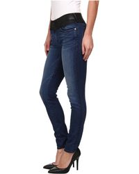 True Religion Halle Mid Rise Super Skinny in Till The End - Lyst