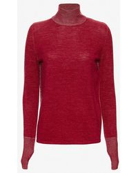 Dion Lee | Melange Open Back Loop Knit Sweater | Lyst
