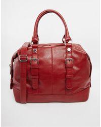 Asos Slouch Handheld Bag - Lyst