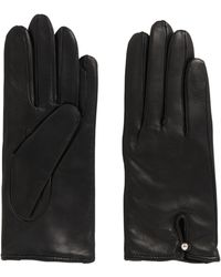HUGO - Leather Gloves: 'dh 68' - Lyst